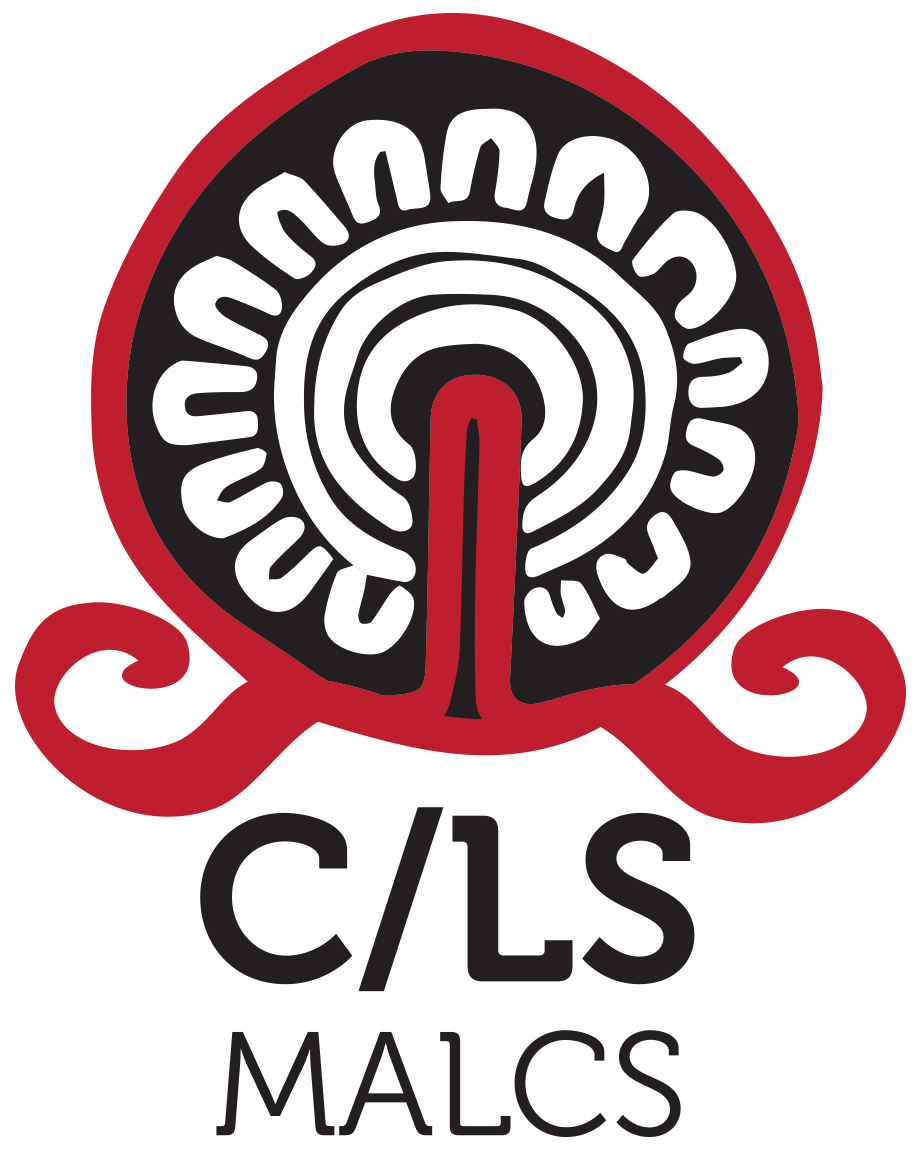 The flower image represents a group of women collectively working together. The swirl symbols on the side of the logo represent speaking out for those who need to be heard. A book and a sun can also be seen, both encompassing growth and change.