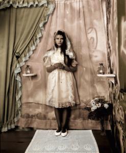 """""""El Sagrado Corazon: Malinche"""" by Delilah Montoya"""