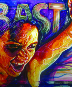 "Detail from ""Basta, 2010"" by Adriana M. J. Garcia"