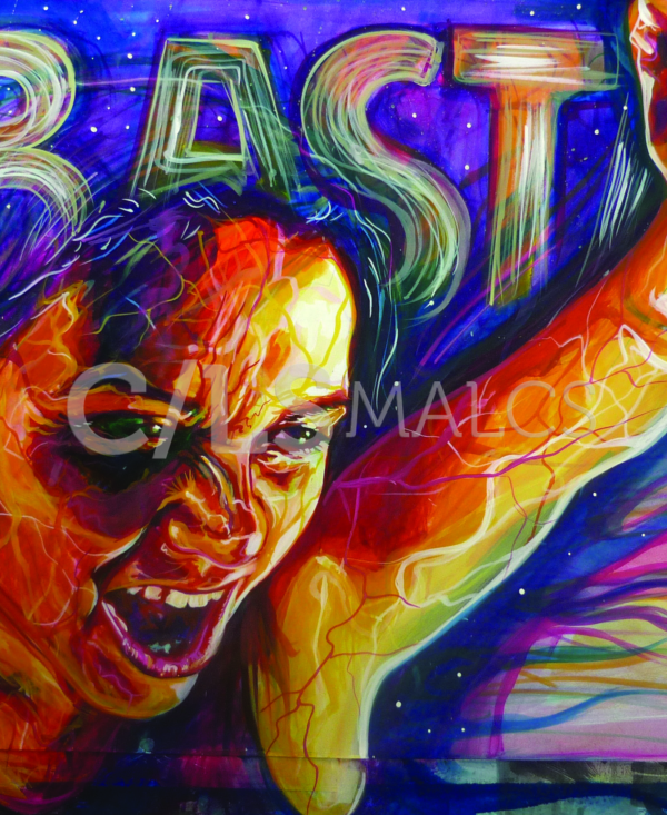 "Detail from ""Basta"" (2010) by Adriana M. J. Garcia"