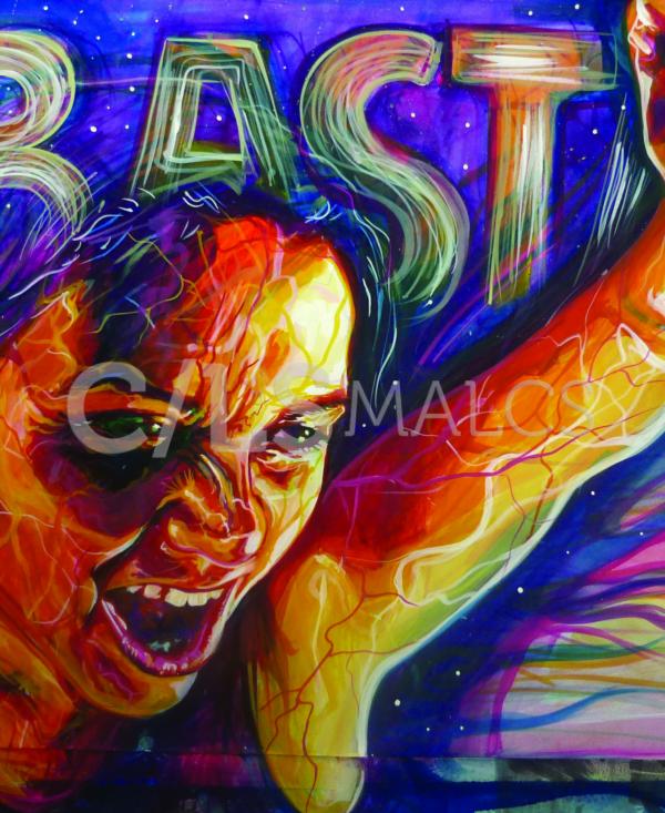 """Detail from """"Basta"""" (2010) by Adriana M. J. Garcia"""