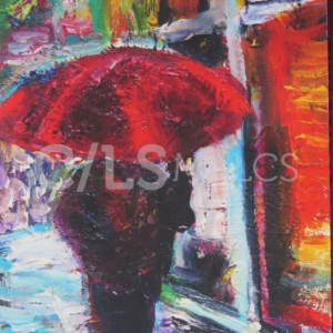 """Red Umbrella"" by Margaret Garcia"