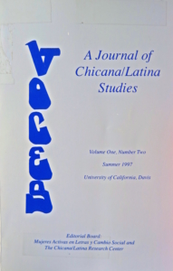 Cover of Voces 1(2) Summer 1997
