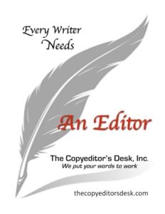 the copyeditor's desk logo