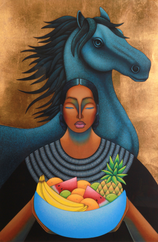 Strength of Harvest, by Nivia Gonzalez